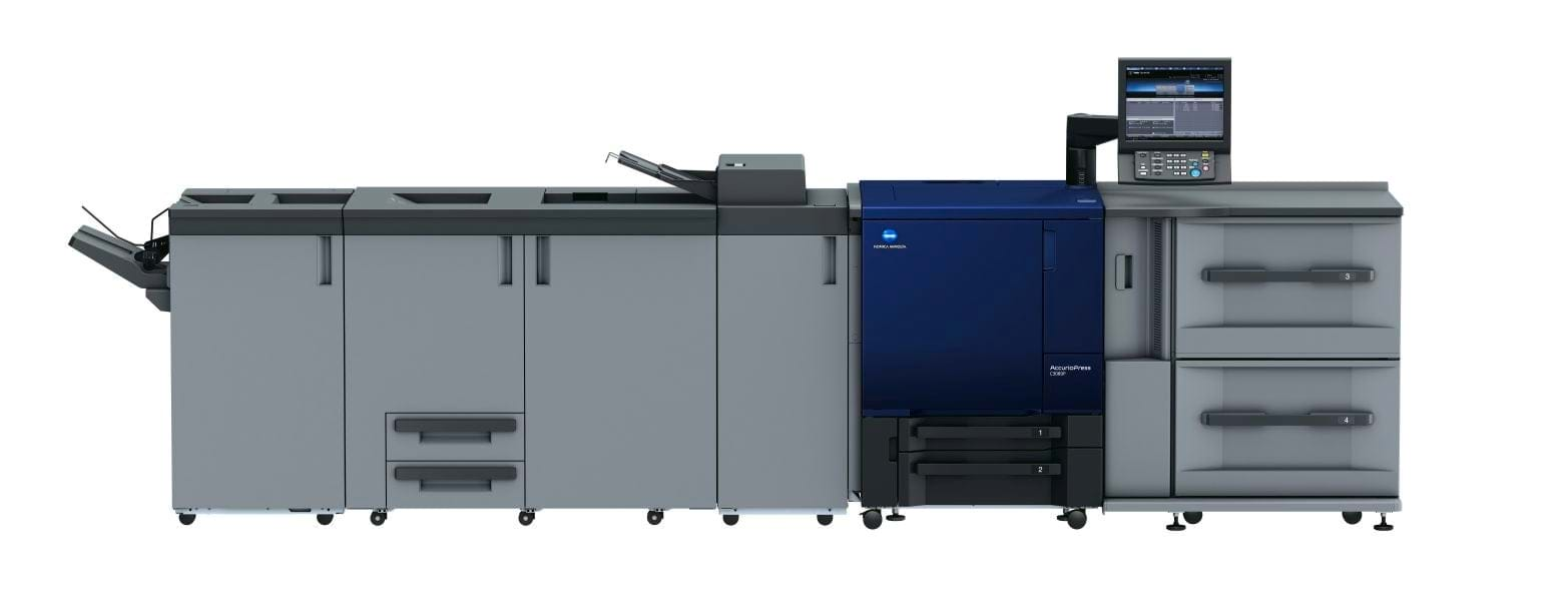 Profesionalni tiskalnik Konica Minolta accurio press c3080p