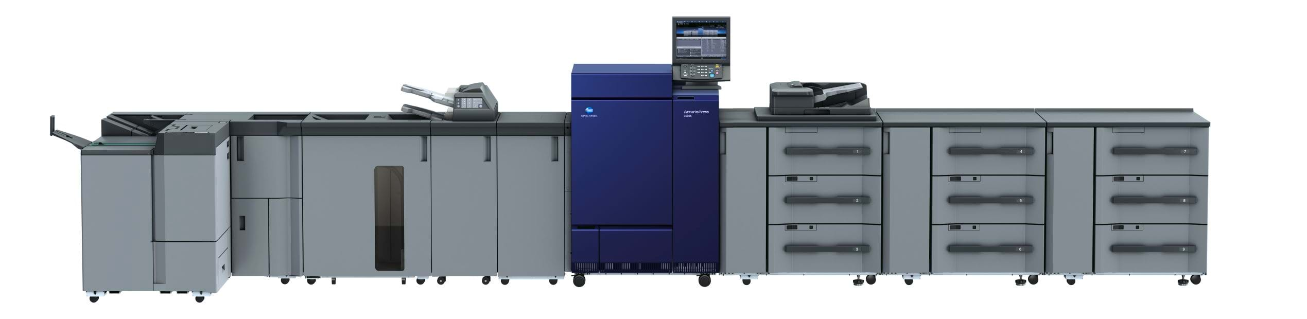 Konica Minolta accurio press c6085 professional printer